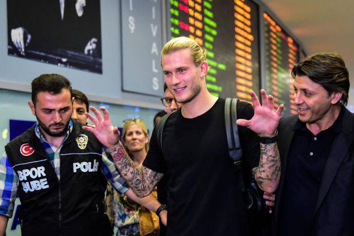 Karius sorridente appena sbarcato ad Istanbul