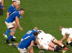 L'Italia del Rugby sconfitta dall'Inghilterra nel SIx Nations 2019