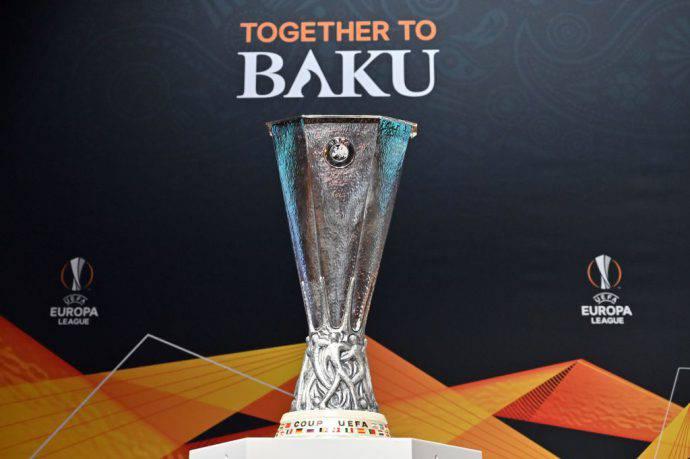 La splendida coppa in palio a maggio in Azerbaigian