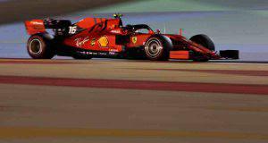 Charles Leclerc Formula 1 Qualifiche Bahrein Ferrari