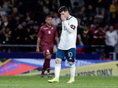 Lionel Messi Argentina problemi muscolari