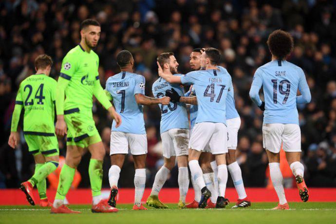 Man City da record in Champions