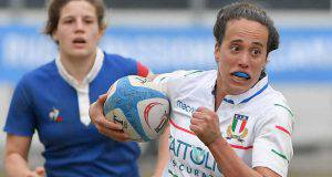 Manuela Furlan capitana dell'Italrugby femminile