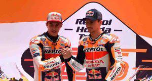 Marquez Lorenzo honda MotoGP 2019
