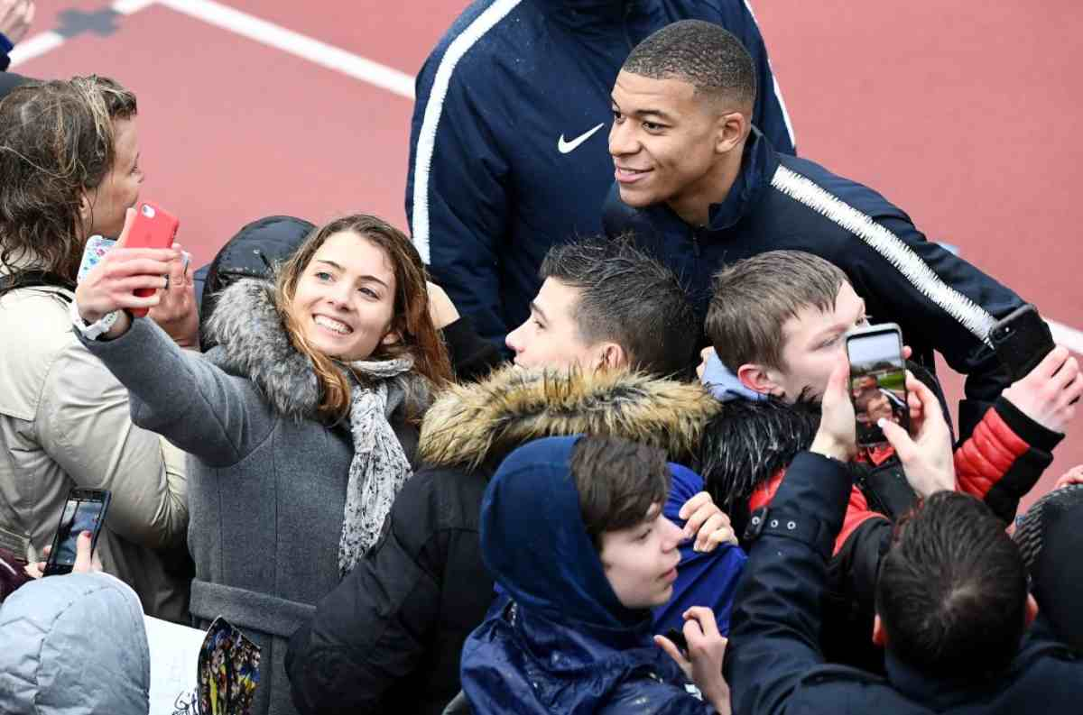 Mbappé nel mirino del Real Madrid