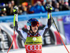 Michaela Shiffrin Cdm vince la Coppa di specialità in SuperG