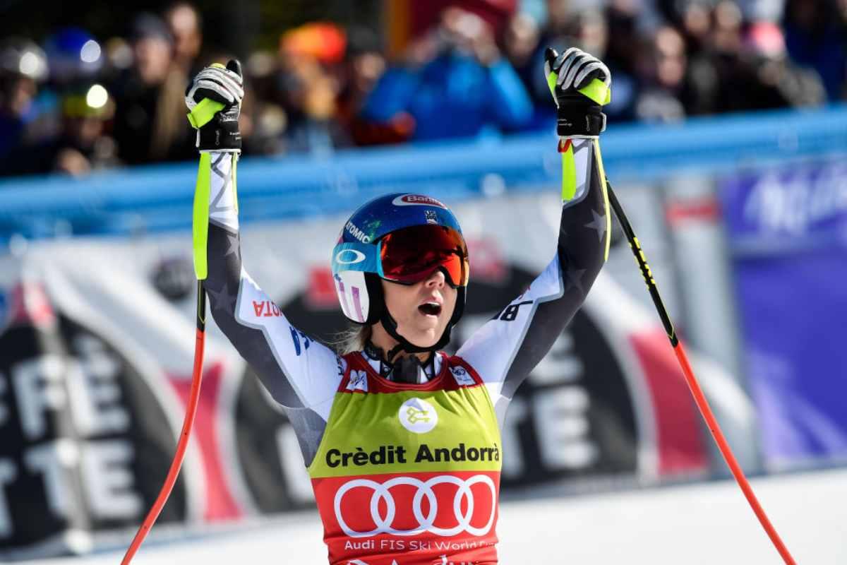 Mikaela Shiffrin Cdm vince la Coppa di specialità in SuperG