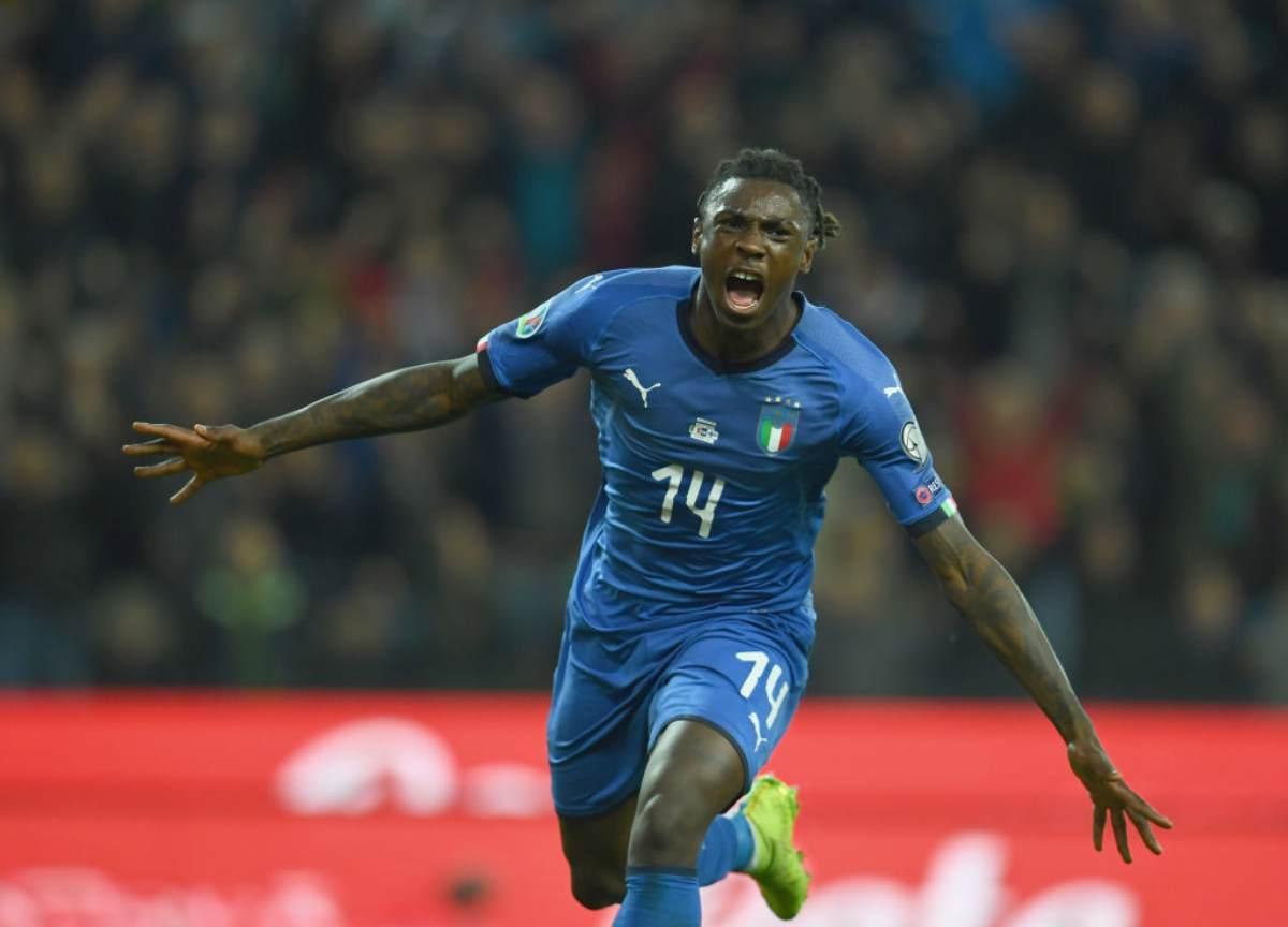 Moise Kean Italia esordio con gol