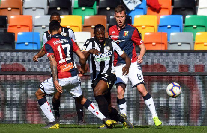 Okaka contro il Genoa