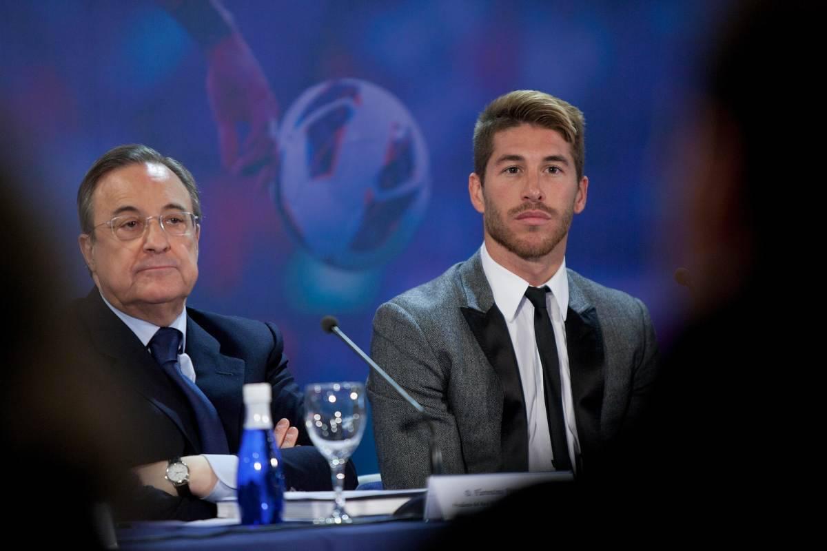 Real Madrid Perez Ramos lite
