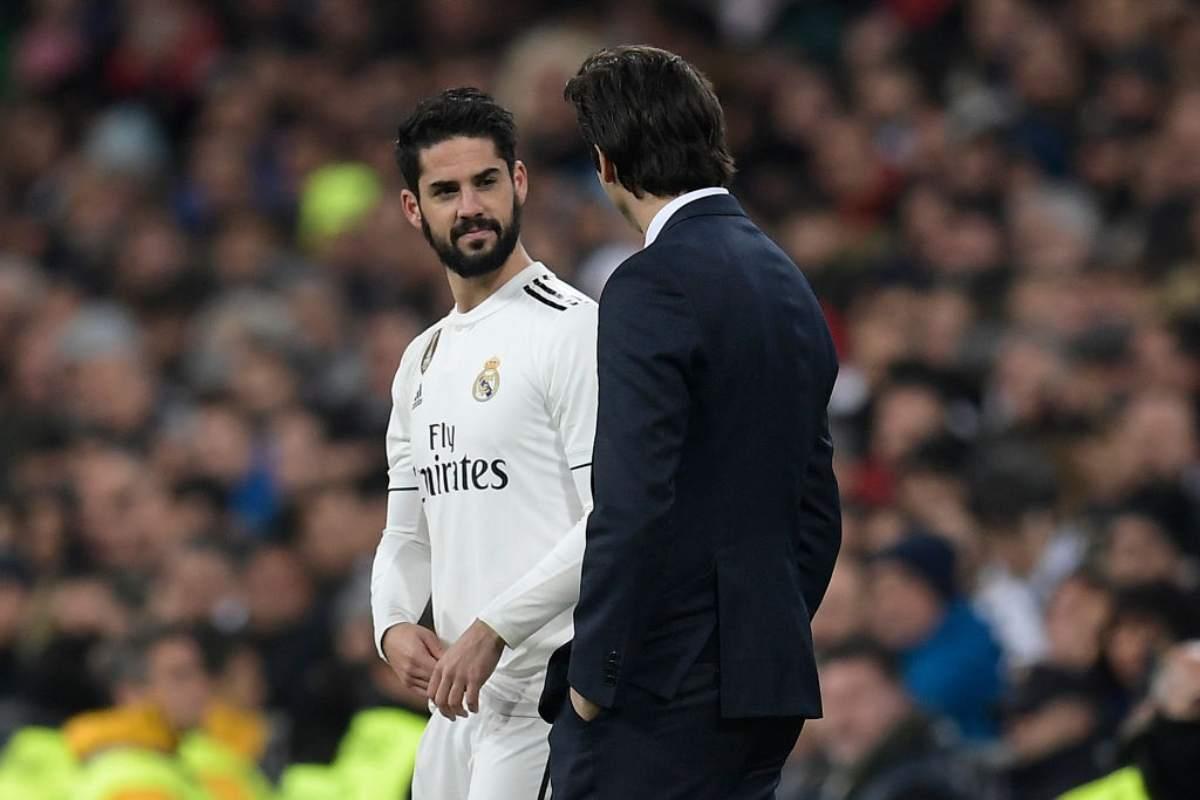 Real Madrid rottura Solari Isco