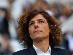Rita Guarino allenatore della Juventus femminile Campione d'Italia