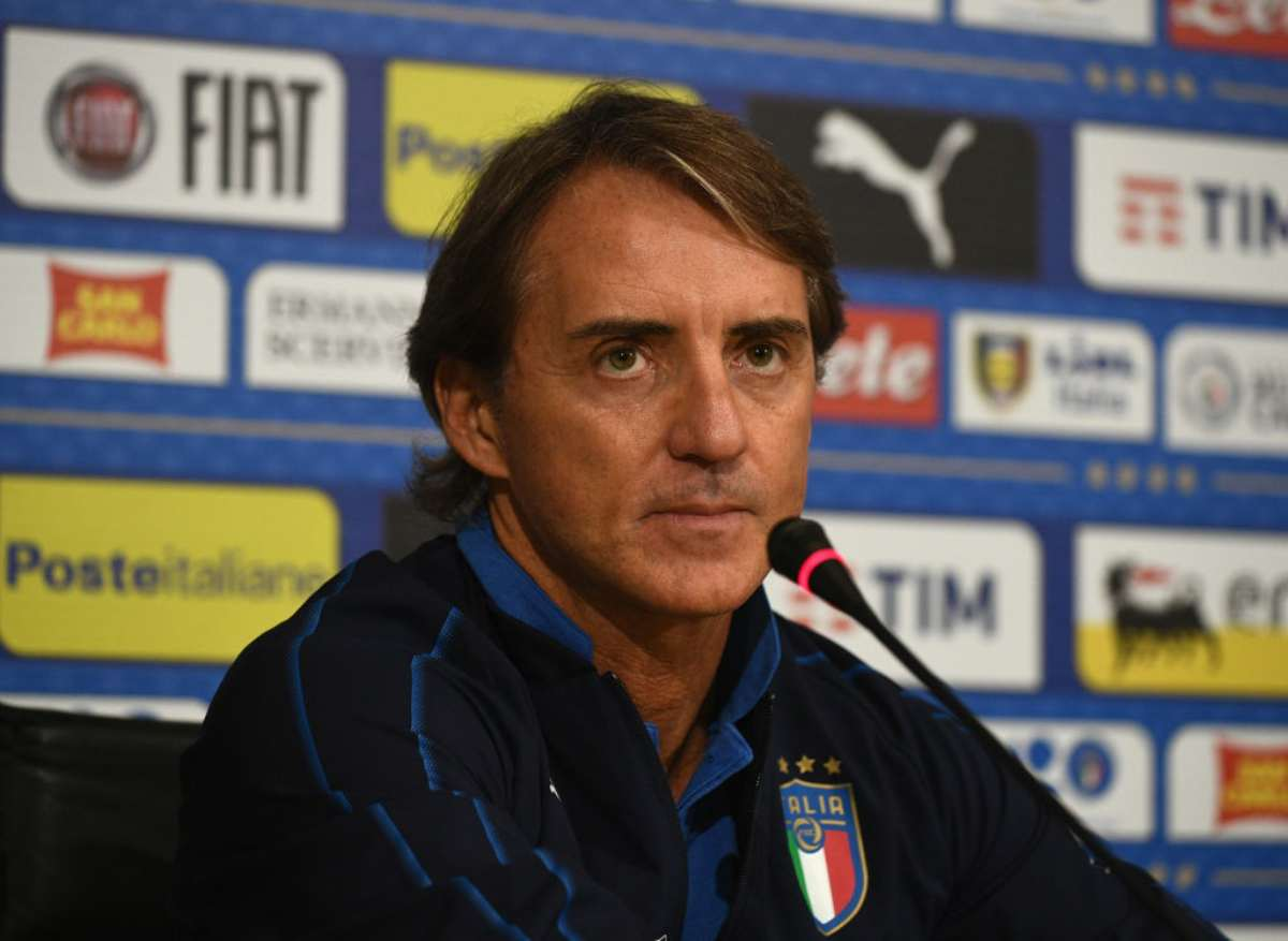Roberto Mancini ct dell'Italia missione Europei