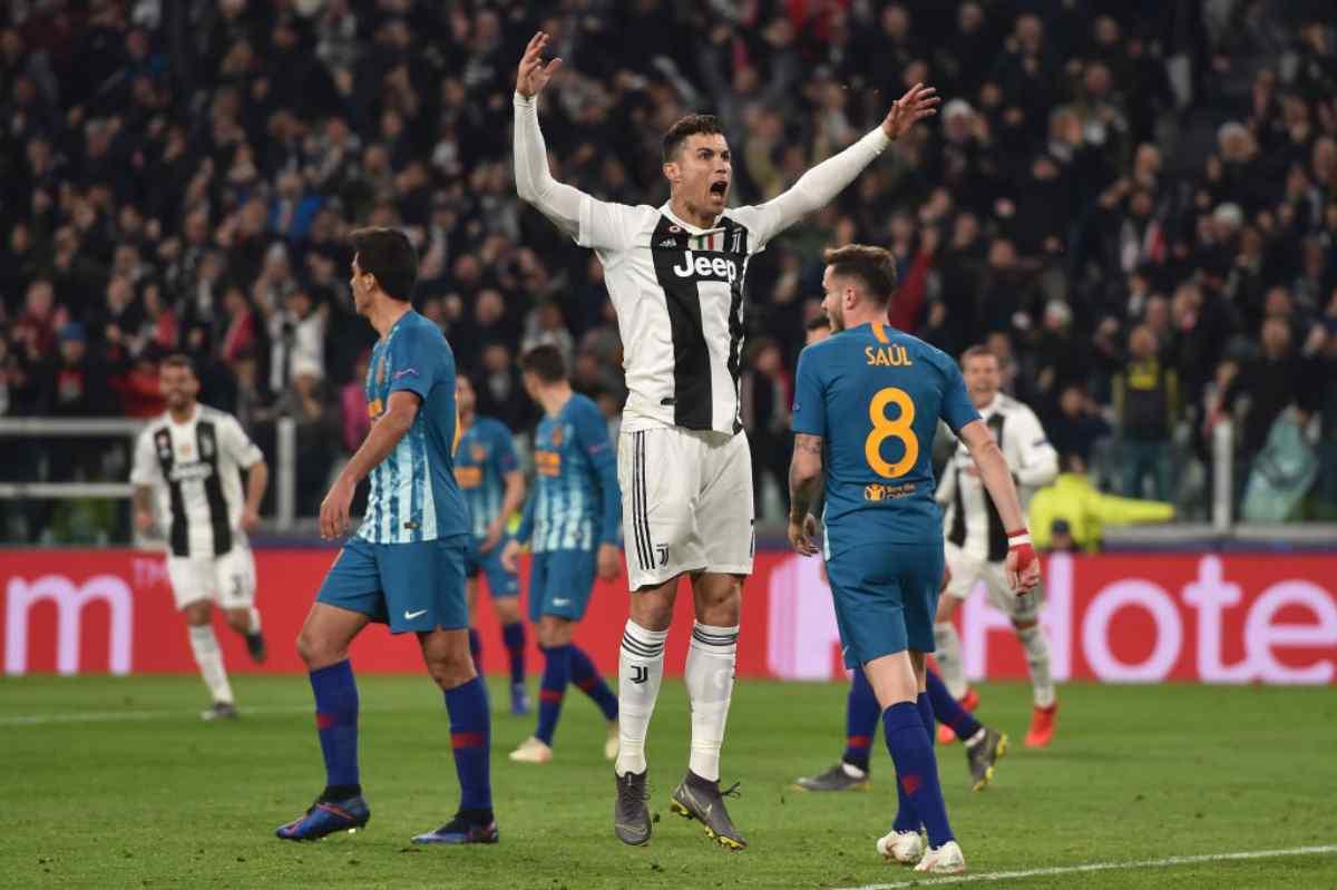 Ronaldo Juventus re della Champions League