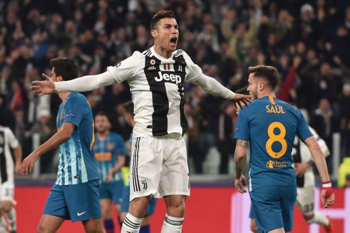 Ronaldo trascinatore contro l'Atletico Madrid