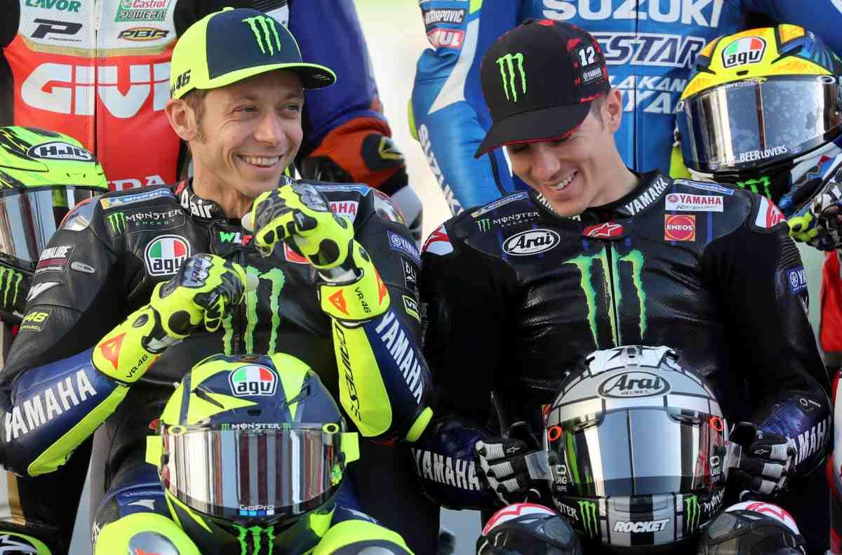 Rossi Vinales MotoGP Qatar Yamaha