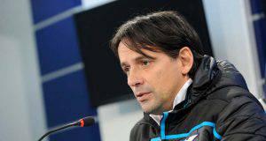 Simone Inzaghi Lazio vigilia derby