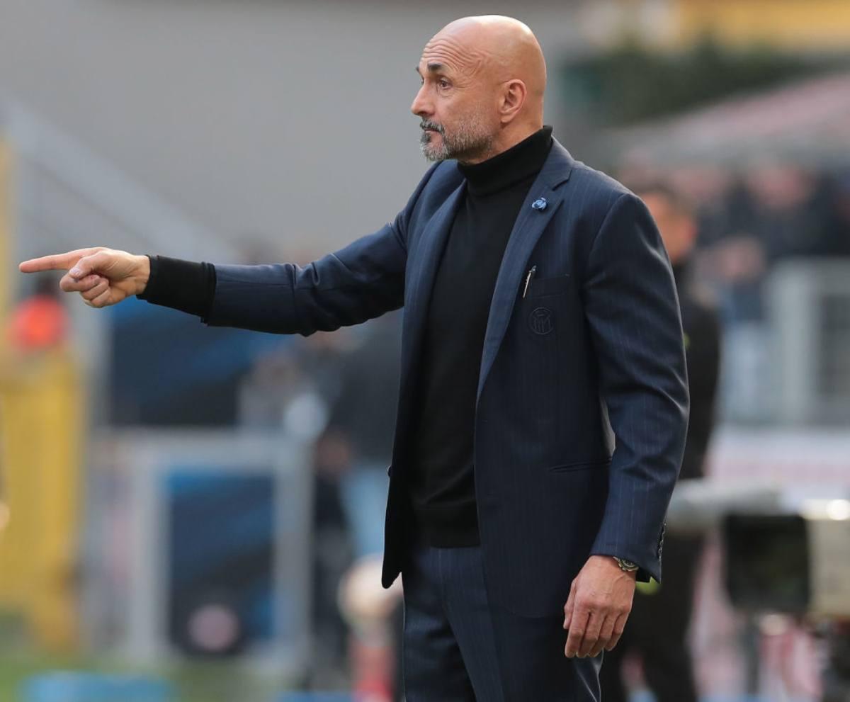 Spalletti Inter vigilia della sfida contro l'Eintracht