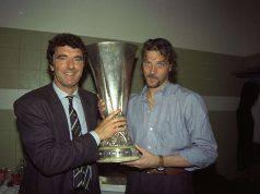 Stefano Tacconi con Dino Zoff