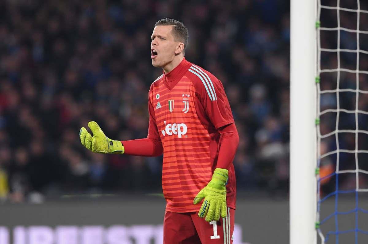 Szczesny Juventus sul periodo alla Roma