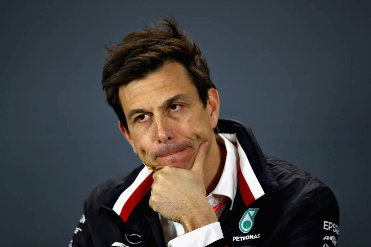 Toto Wolff Formula 1 Mercedes