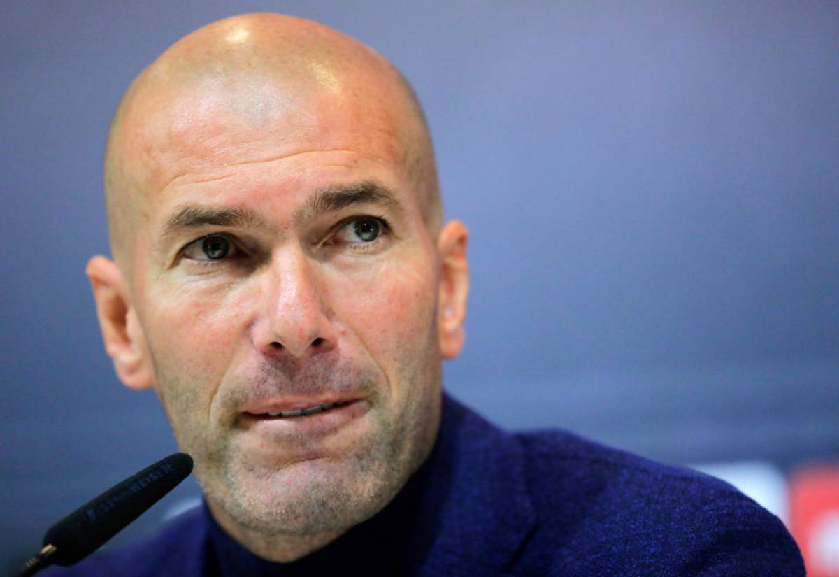Zinedine Zidane ipotesi Juventus