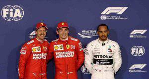 leclerc vettel hamilton formula 1 qualifiche Bahrein