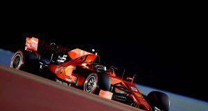 vettel sebastian formula 1 ferrari FP2 Bahrein