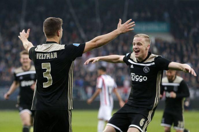 Ajax corsaro contro il Willem II