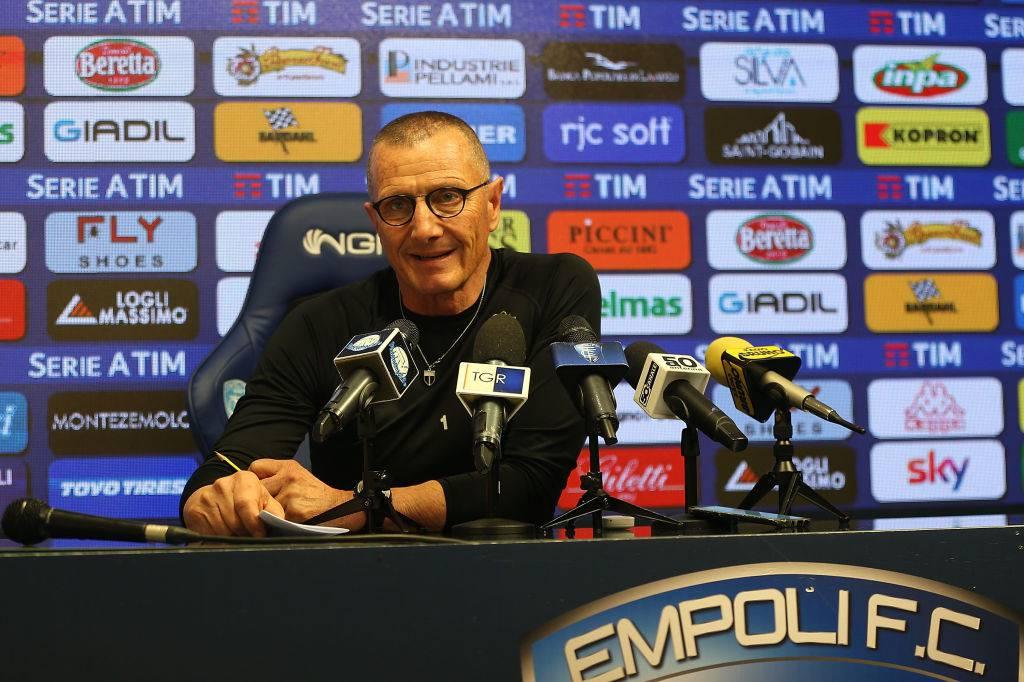 Aurelio Andreazzoli Empoli attacco alla Juventus