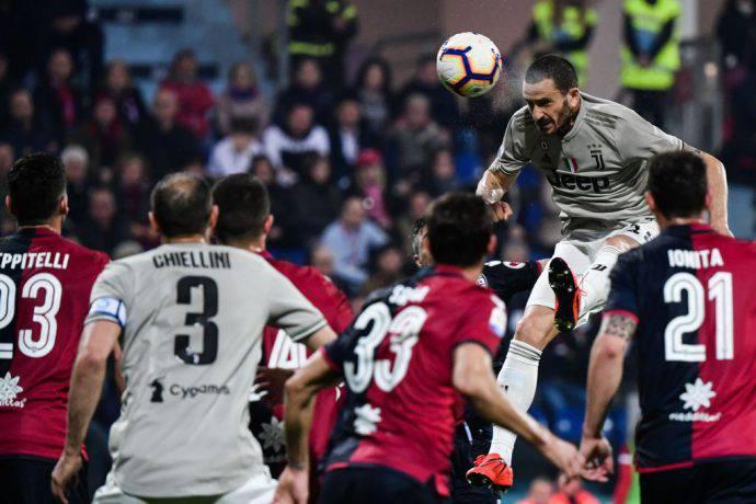 Bonucci sblocca il risultato a Cagliari