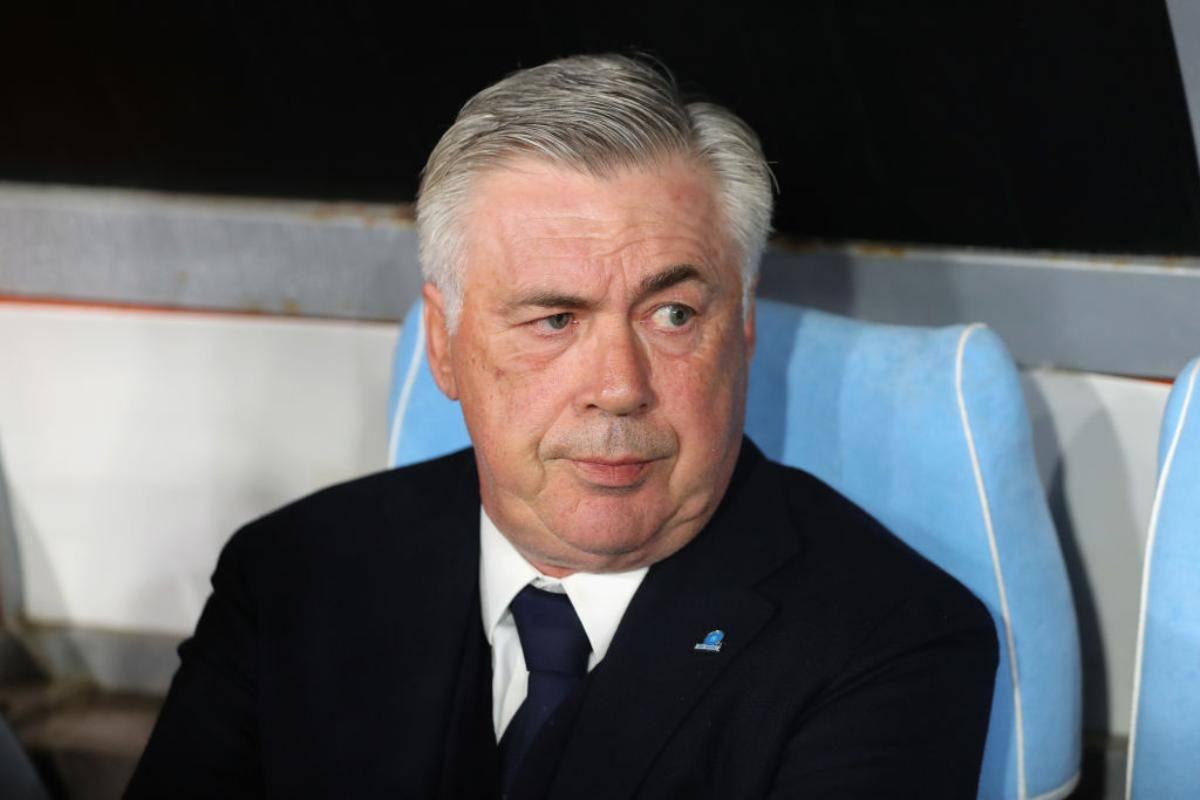 Carlo Ancelotti Napoli vigilia Frosinone