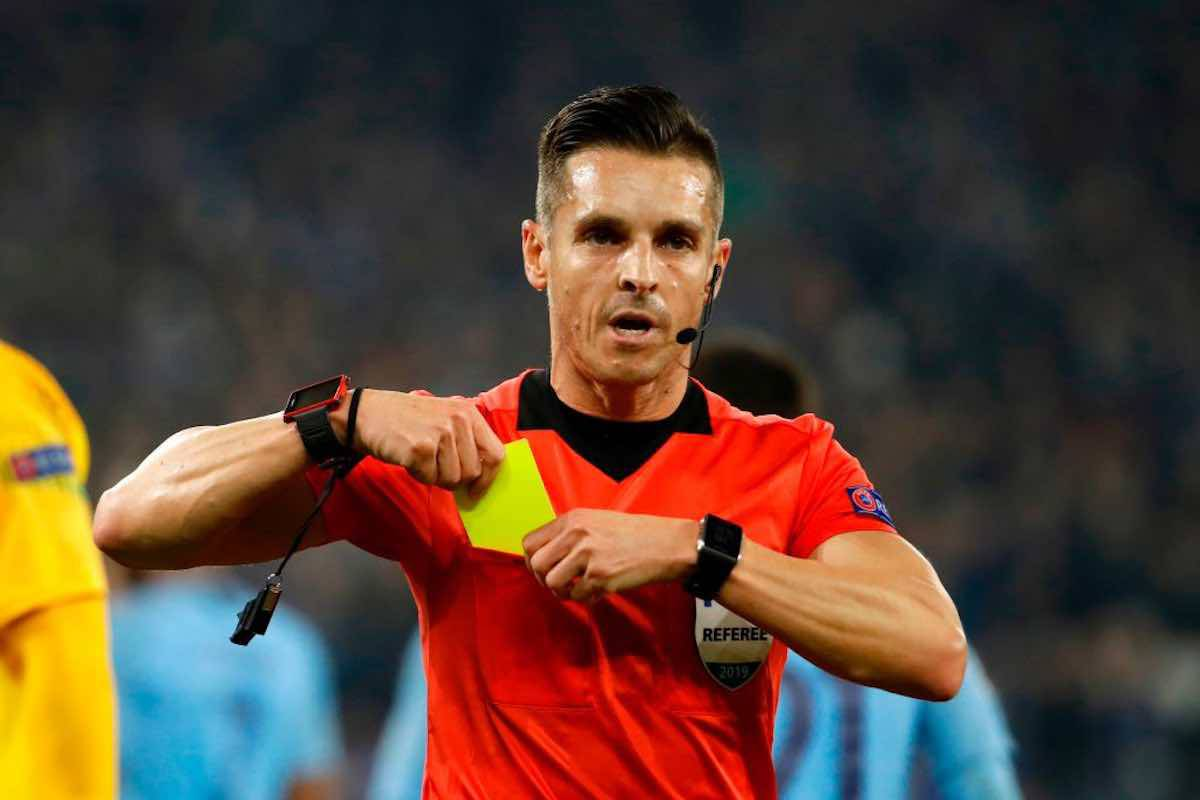 Carlos del Cerro arbitro di Ajax-Juventus andata dei quarti di Champions League