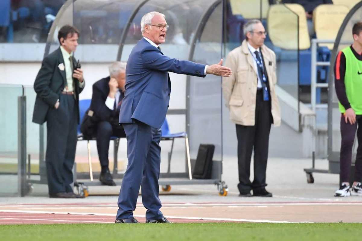 Claudio Ranieri Roma post Cagliari