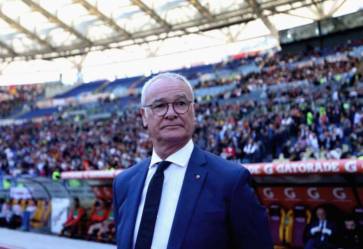 Claudio Ranieri allenatore della Roma