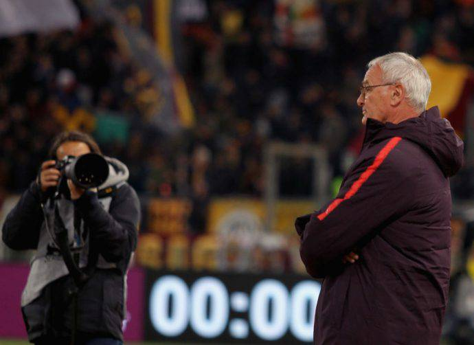 Claudio Ranieri Roma vigilia Sampdoria