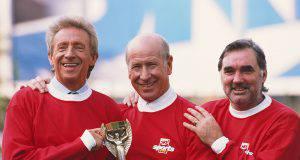 Denis Law, Bobby Charlton e George Best!