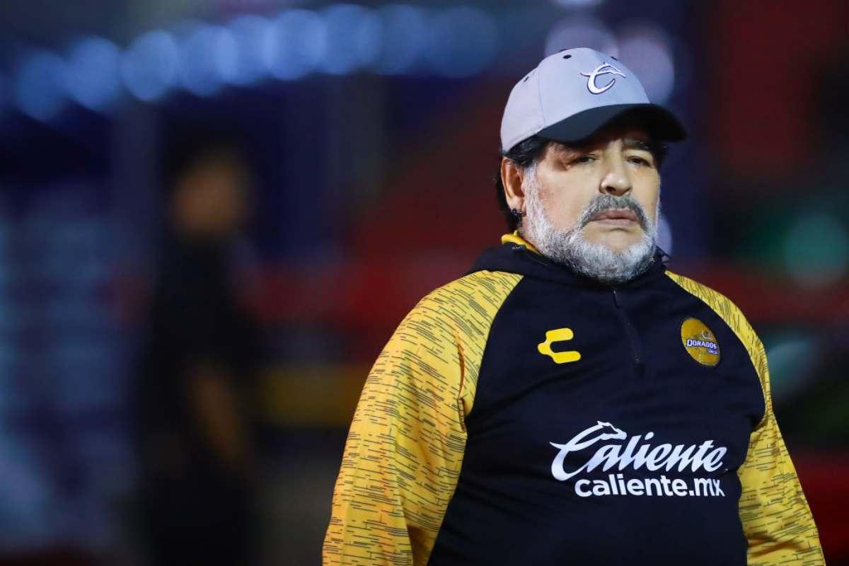 Diego Armando Maradoma tecnico dei Dorados