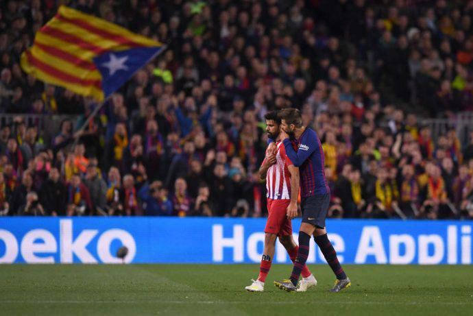 Diego Costa respinto il ricorso dell'Atletico Madrid. Confermate le 8 giornate