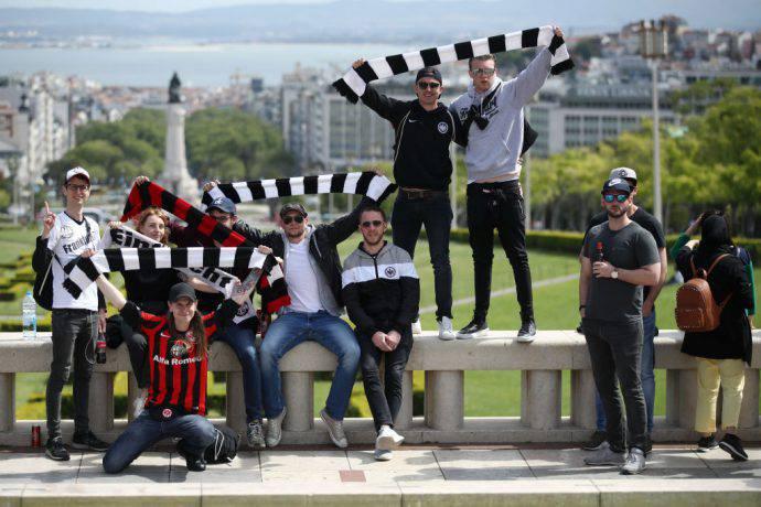 Eccoli, da Francoforte a Lisbona!