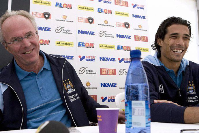 Eriksson e Corradi al Man City