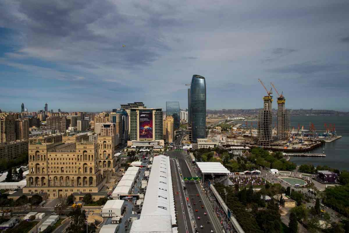 GP Azerbaigian Baku Formula 1 F1