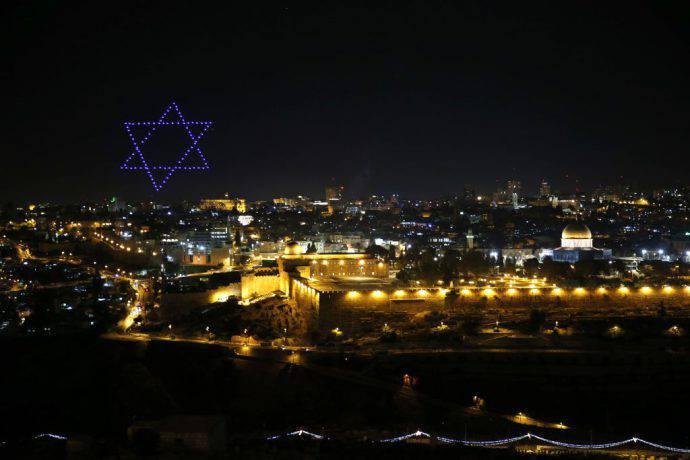 Gerusalemme di notte è ancora più bella