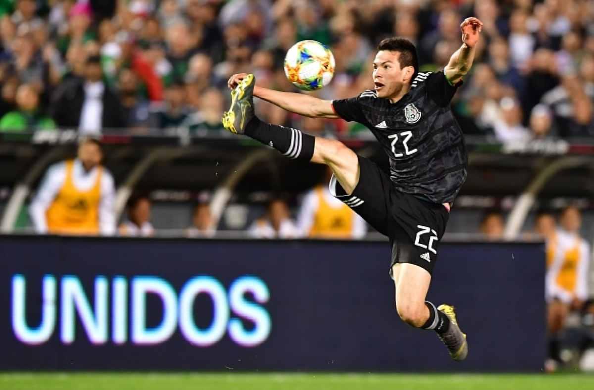 Lozano Napoli Manchester United