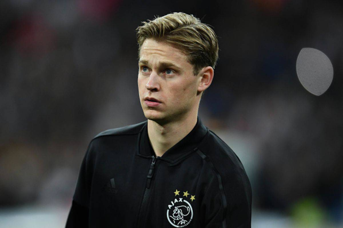de Jong Ajax Juventus