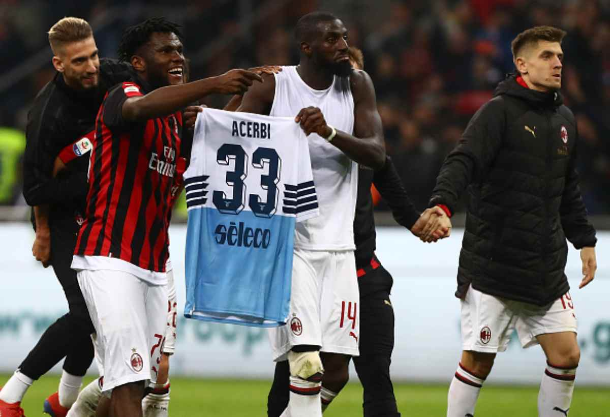 Bakayoko Kessié FIGC Milan-Lazio