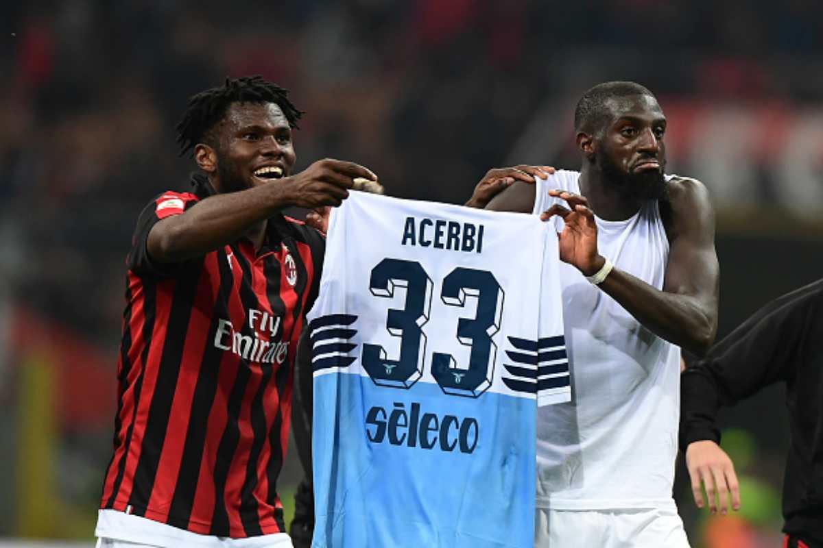 Bakayoko Kessieé Acerbi Milan-Lazio