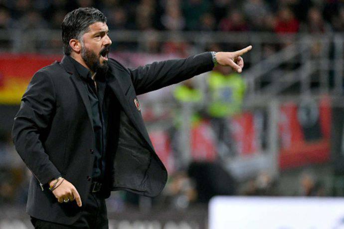 Gattuso Milan Rudi Garcia
