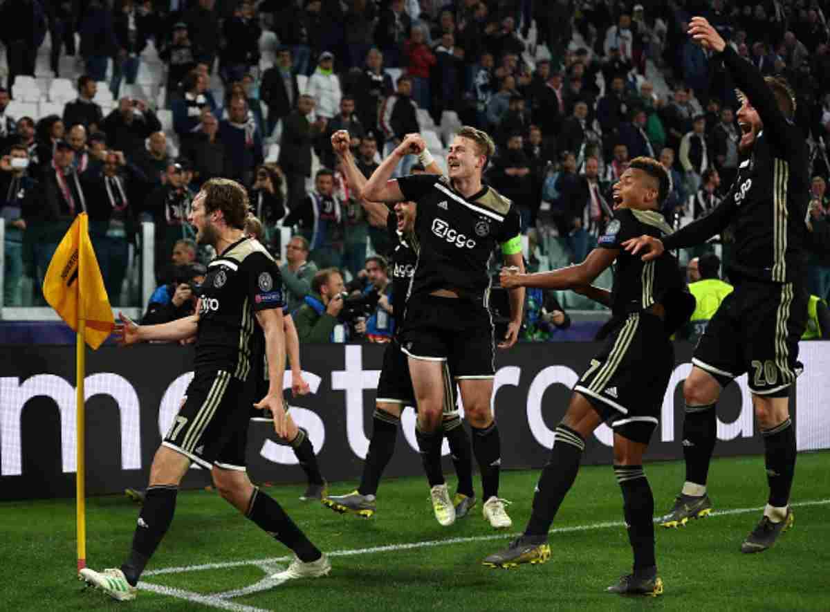 L'Ajax affronterà gli Spurs in semifinale.