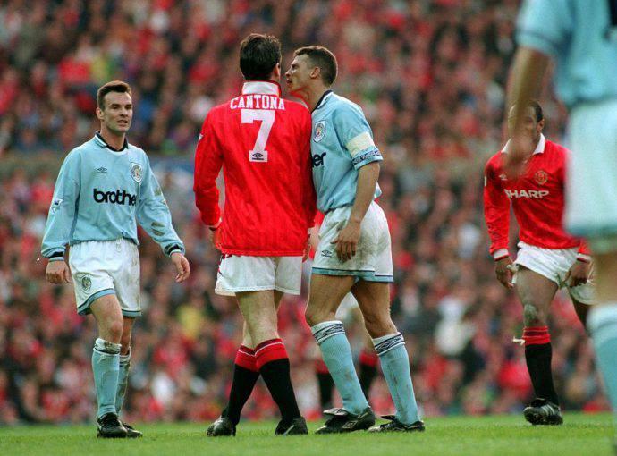 Il derby di Manchester nel 1994